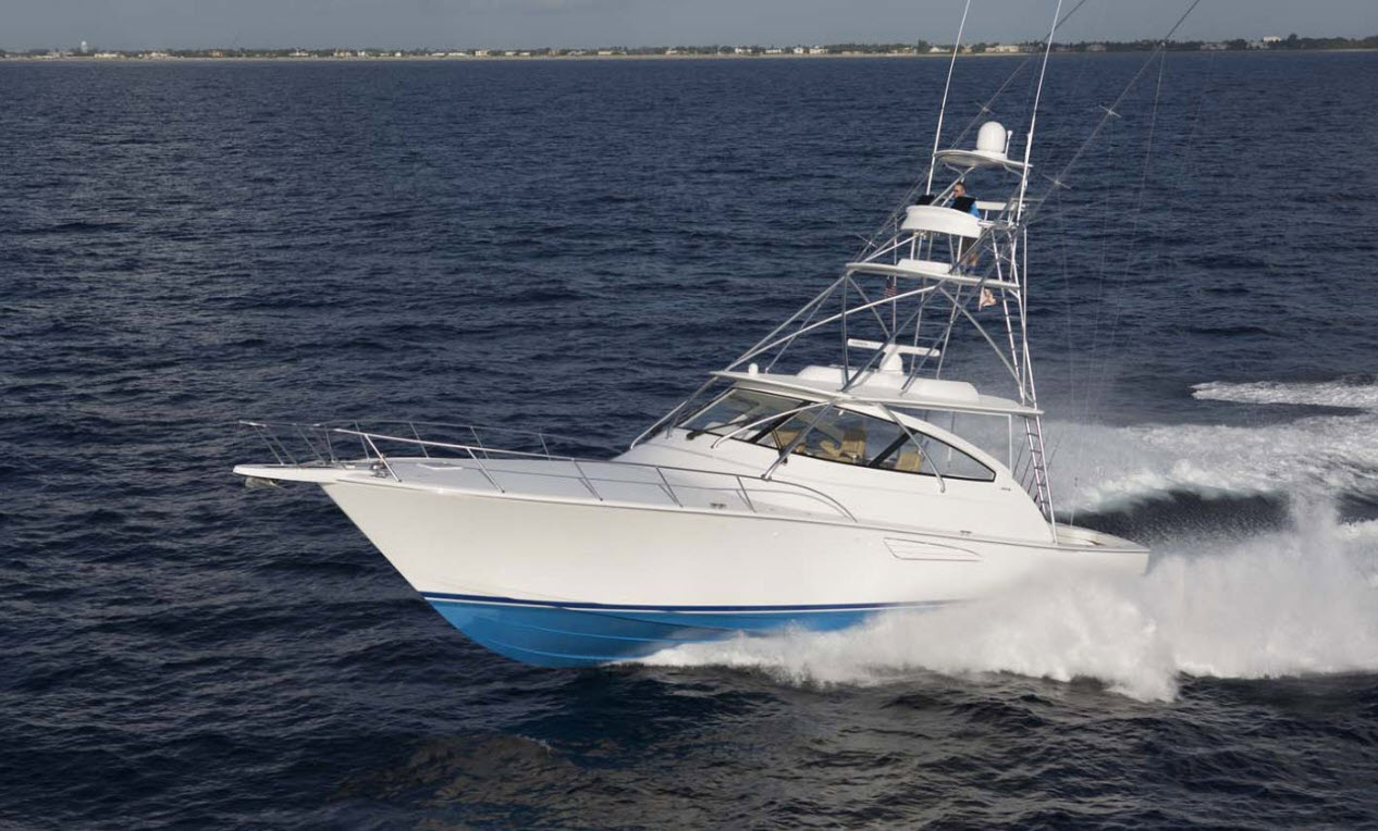 Viking Yachts 52 Open at FLIBS