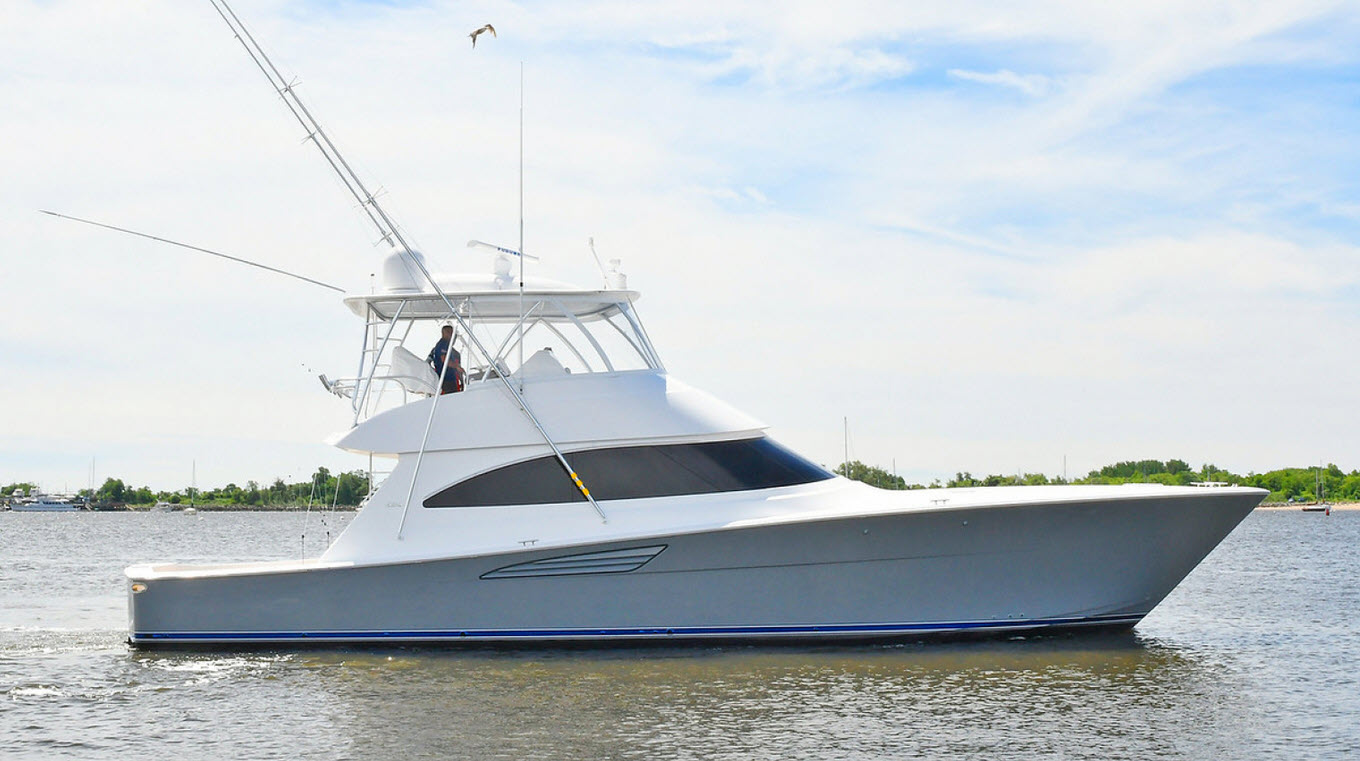 viking 58 convertible yacht for sale