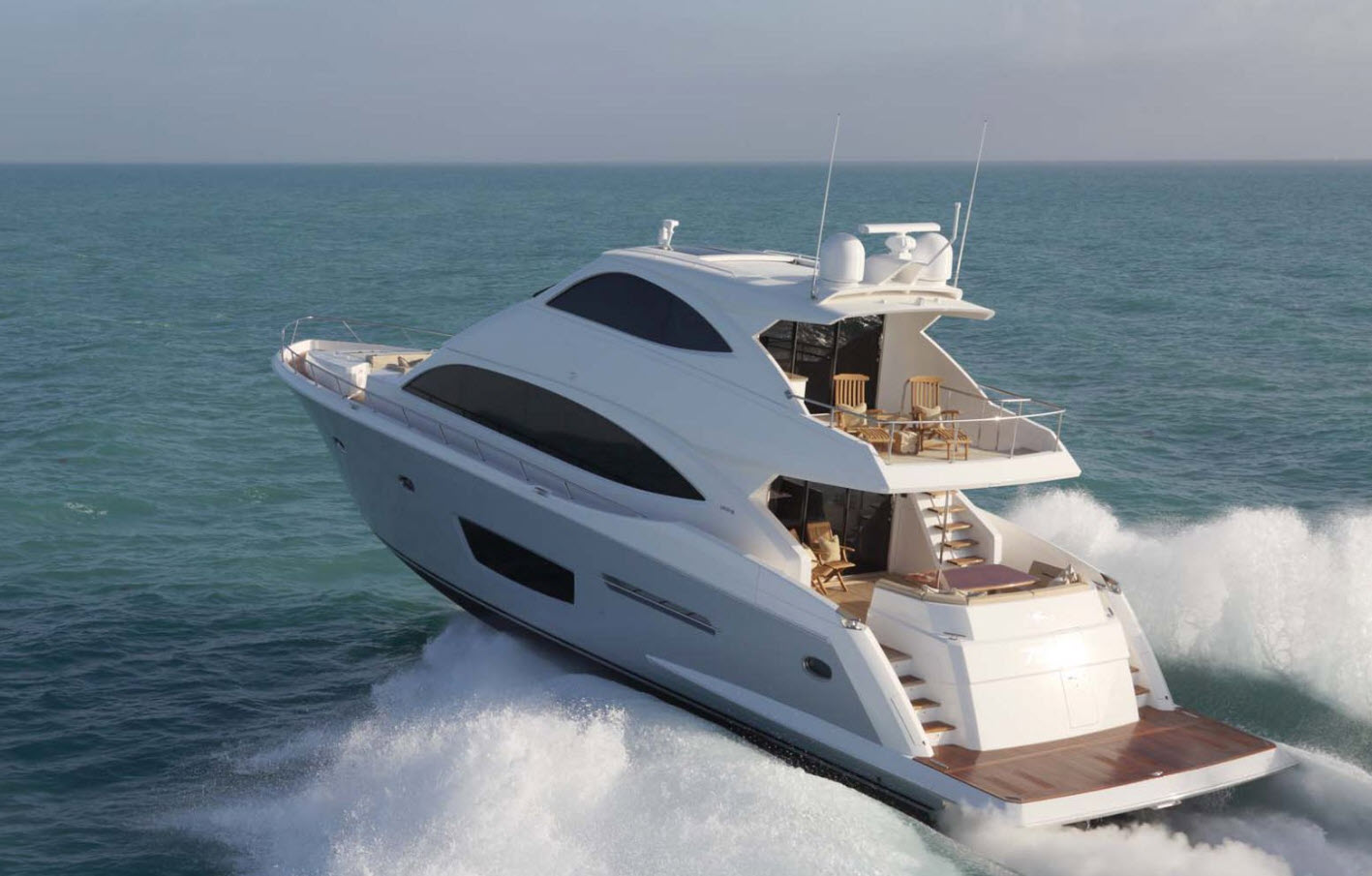 Viking 75 motor yacht at FLIBS