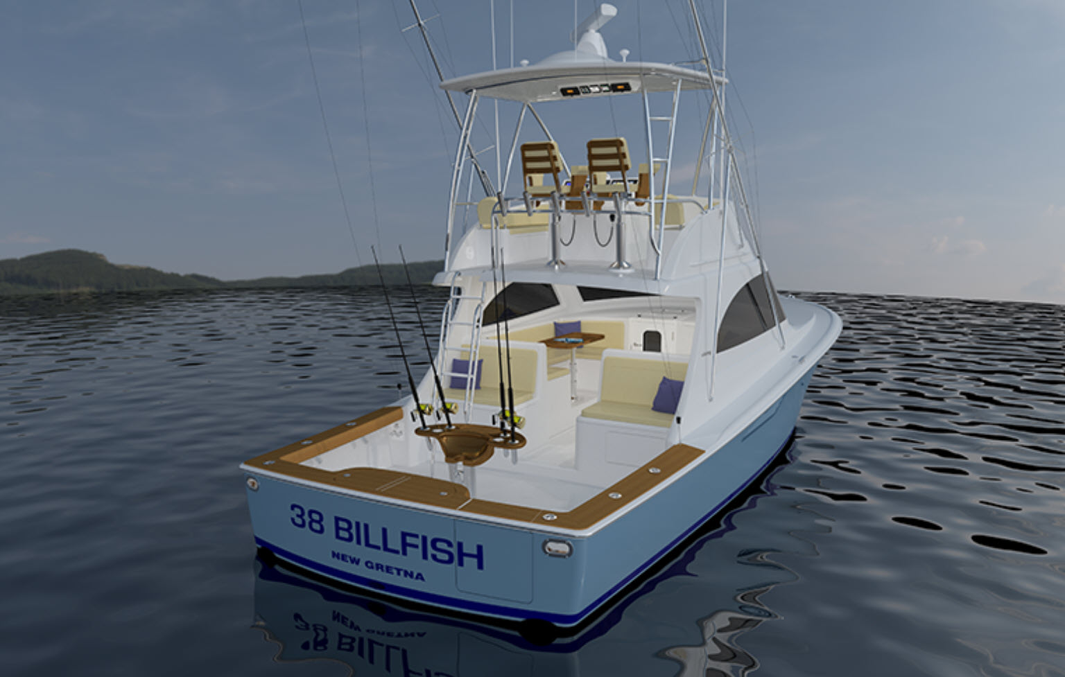 Viking 38 Billfish Aft Cockpit