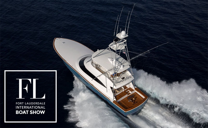 Viking Yachts at the Fort Lauderdale Boat Show
