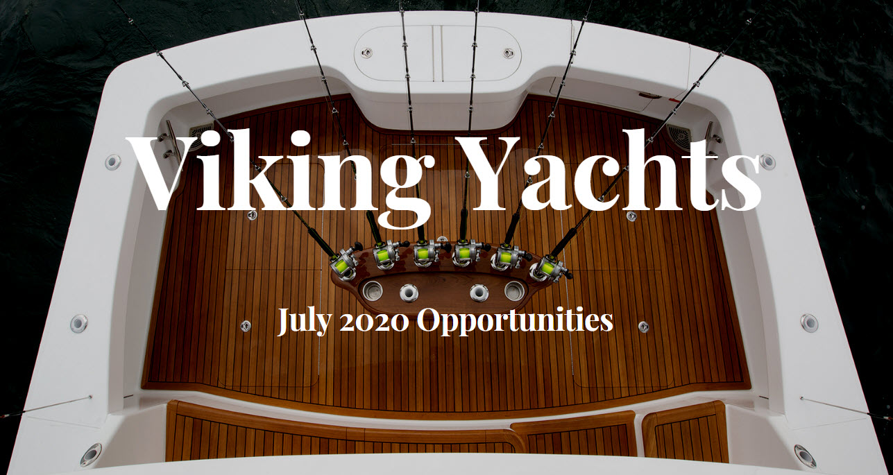 Viking Yachts For Sale In July 2020