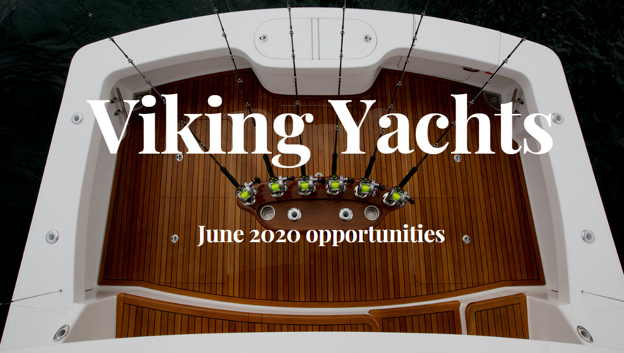 viking yachts for sale june 2020