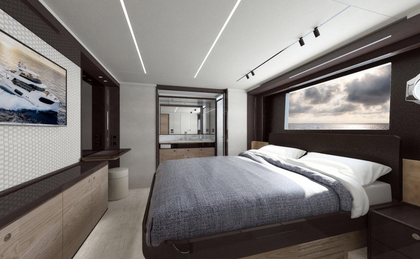 VIP Cabin on the Navetta 64