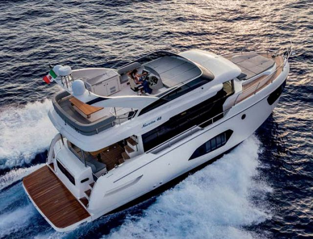 Power And Motor Yacht Tests The Navetta 48