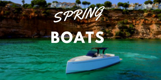 Boats Under 50 Feet Available For Spring Delivery