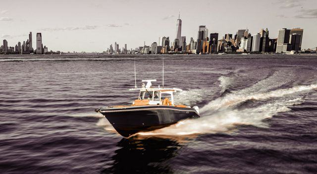 The HCB 42 Lujo Is A Next-Level Center-Console Yacht