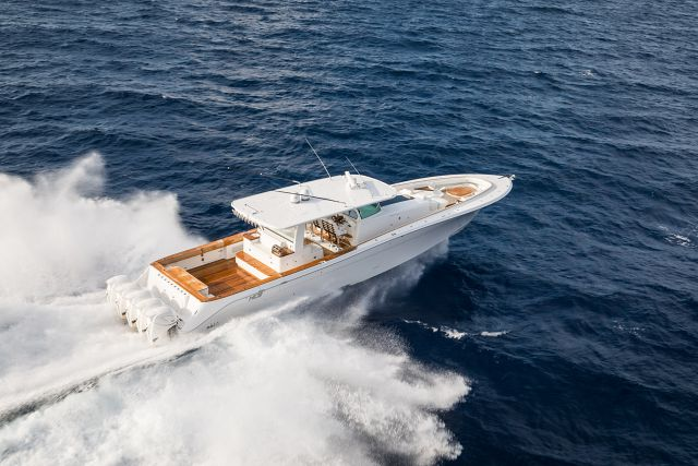 Used Center Console Boats >> The Beast Is Coming: The New HCB Yachts 65 Estrella | Staten Island Yachts