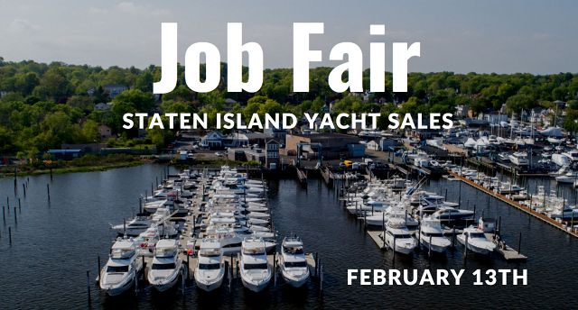 Job Fair At SI Yachts Saturday February 13th