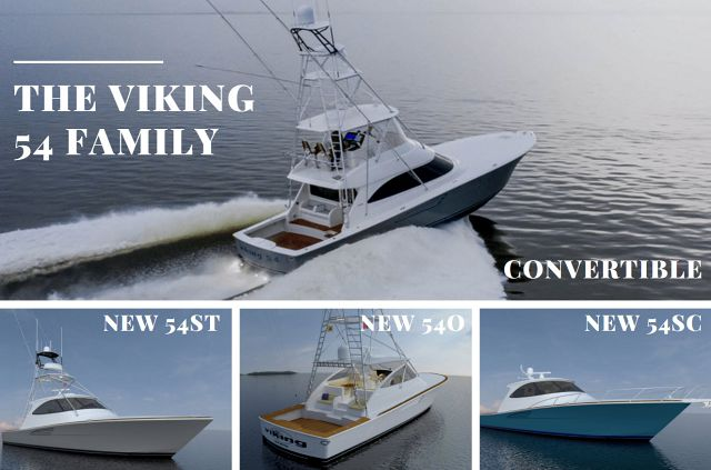 Viking Yachts Announces New 54 Models After Convertible Wins Award