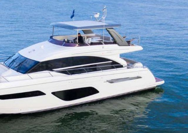 Boat Tube Video Of The Princess F70