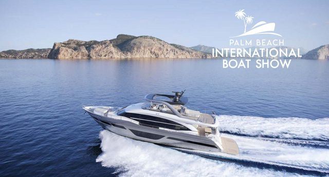 New Princess Yachts For Sale At Palm Beach Boat Show
