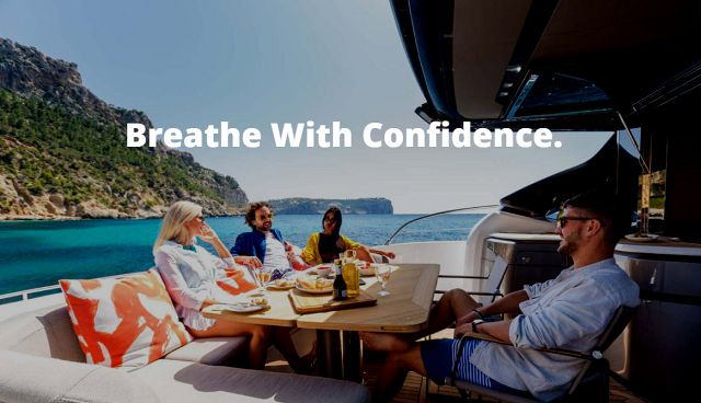 Princess Yachts Offers New Marine Air Purification System