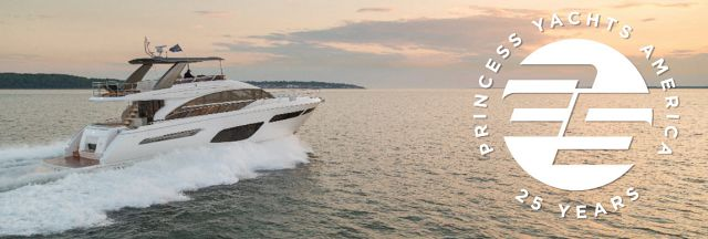 Princess Yachts Silver Anniversary Sales Event