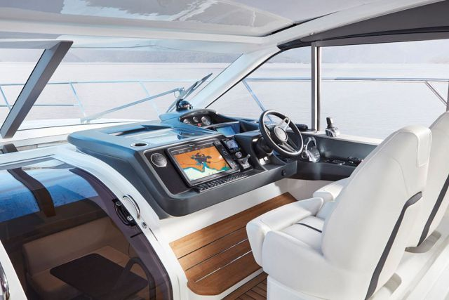 Virtual Tour Of The New Princess V50 Open