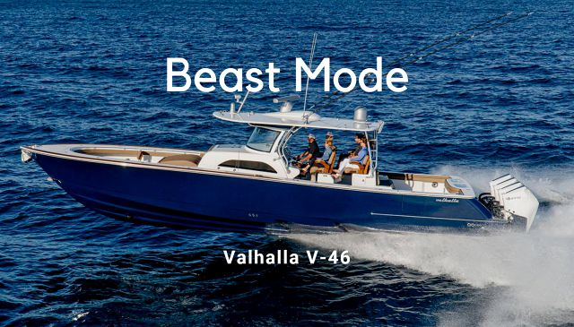 Reviewing The Valhalla V-46 By The Viking Yacht Company