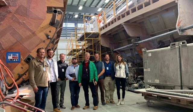 SI Yachts Attends Master's Training At The Viking Yachts Factory