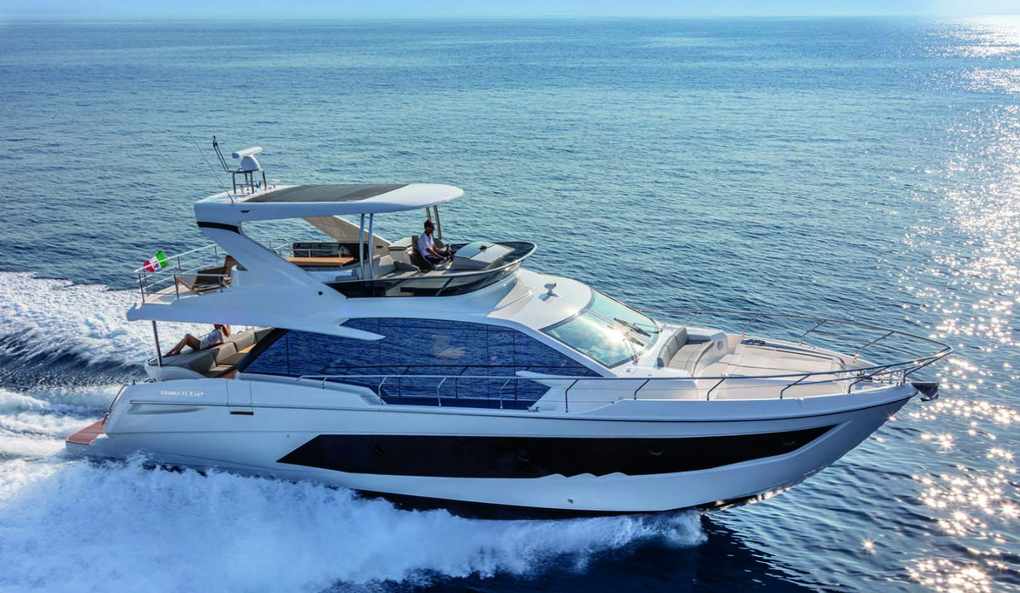 used absolute yachts for sale