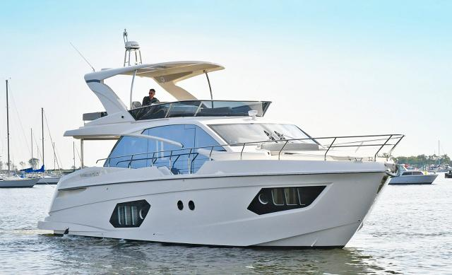 boats for sale between 40 and 50 feet
