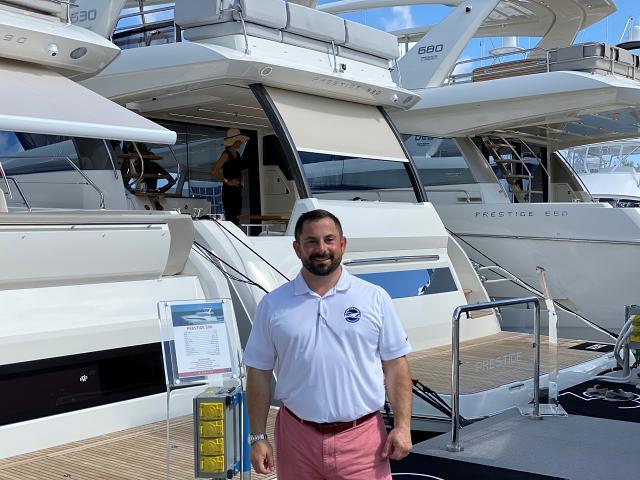Yacht Broker Michael Fine