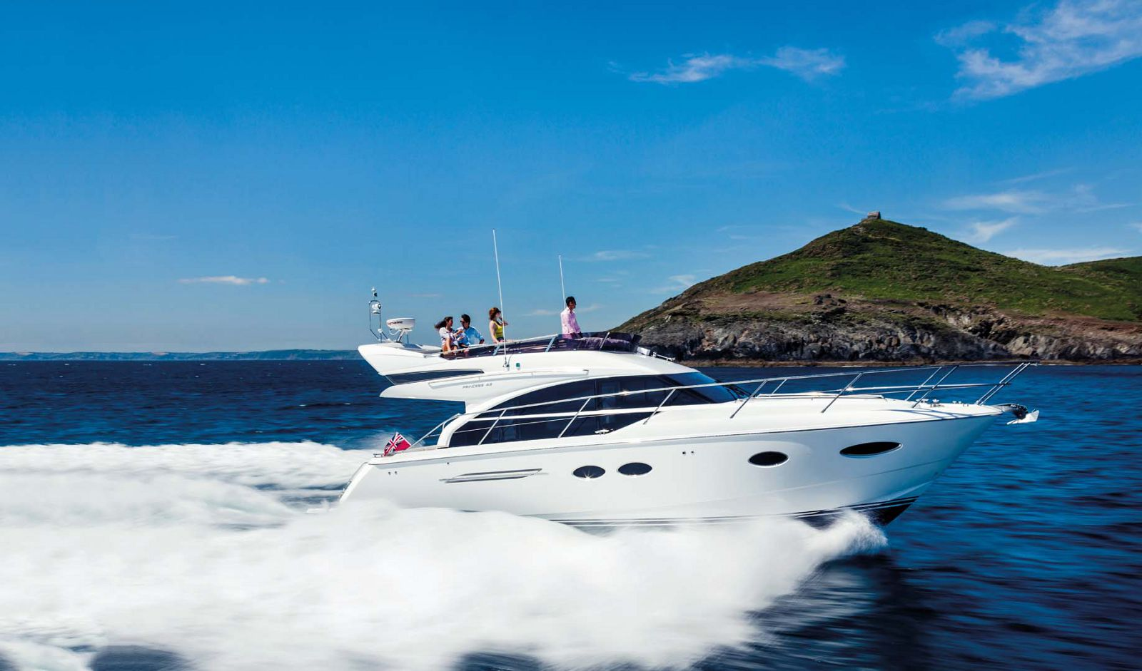 Princess Yachts 43 Flybridge Profile Image