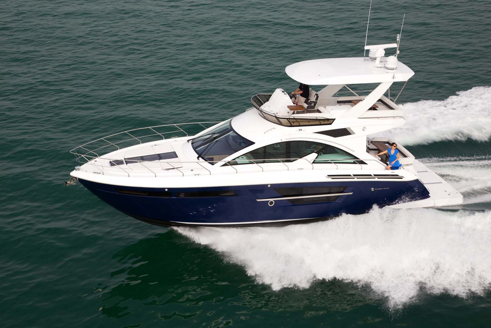Cruisers Yachts 54 Cantius Flybridge