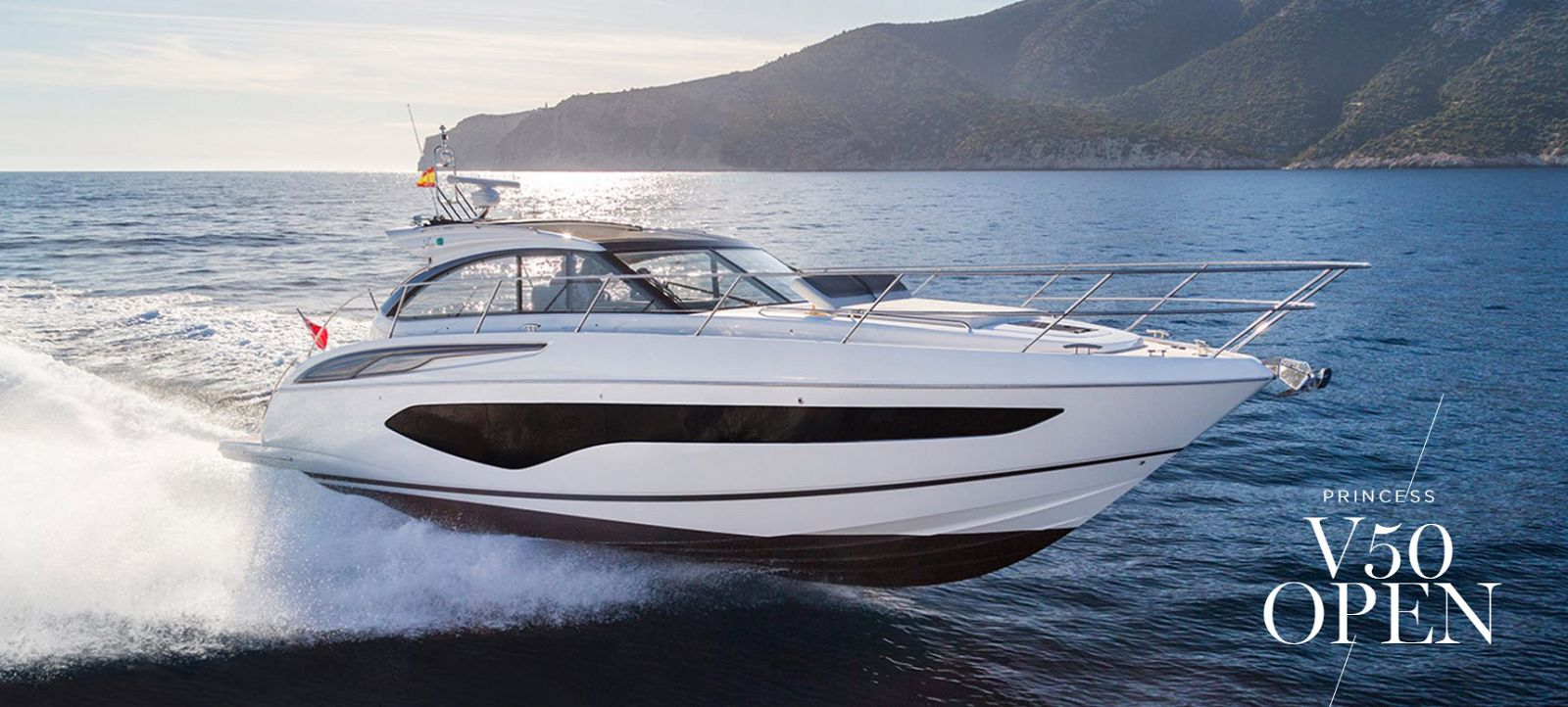 Princess Yachts V50 - Open