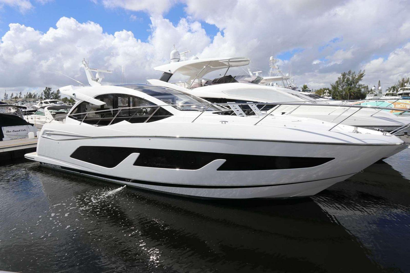 used Sunseeker 50 predator yacht for sale