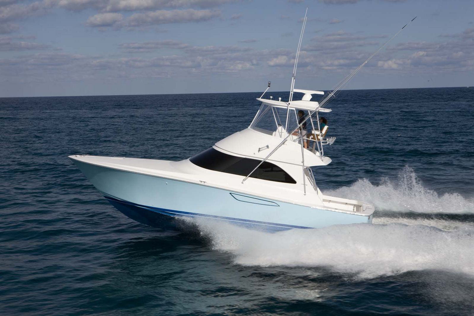 Viking Yachts 42 Convertible Profile Run