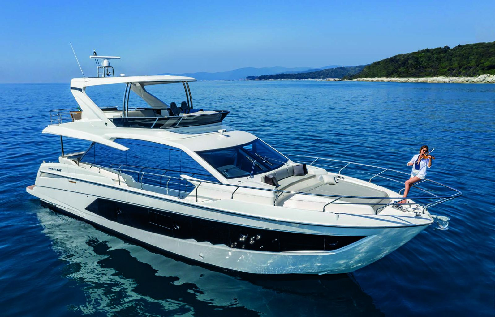 Absolute 62 Flybridge yacht for sale