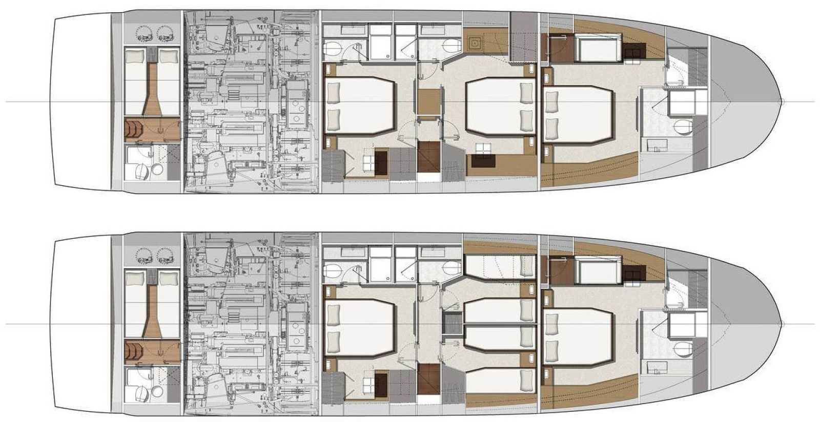 Lower Deck Layout
