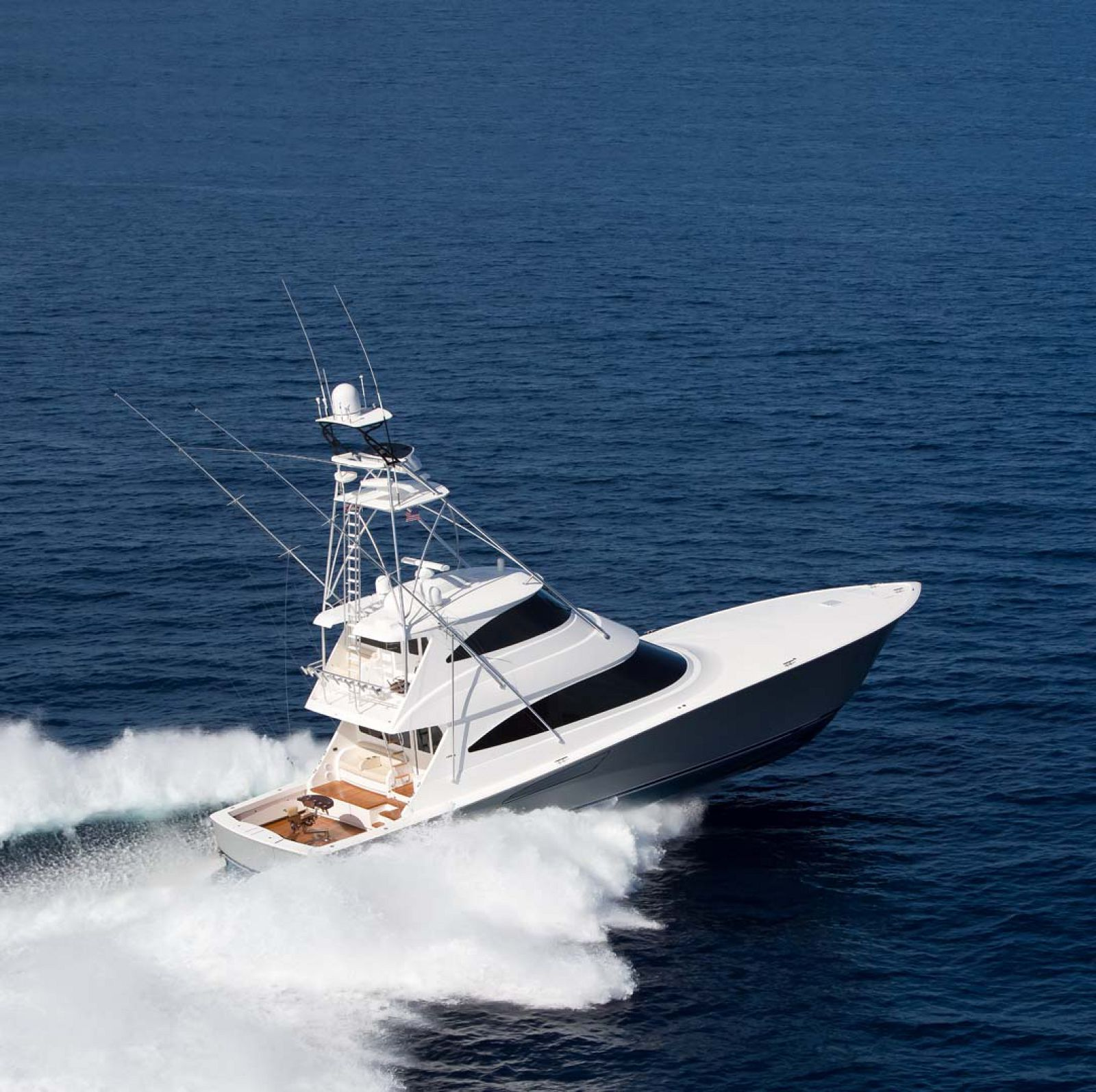 Viking Yachts 72 Enclosed Bridge