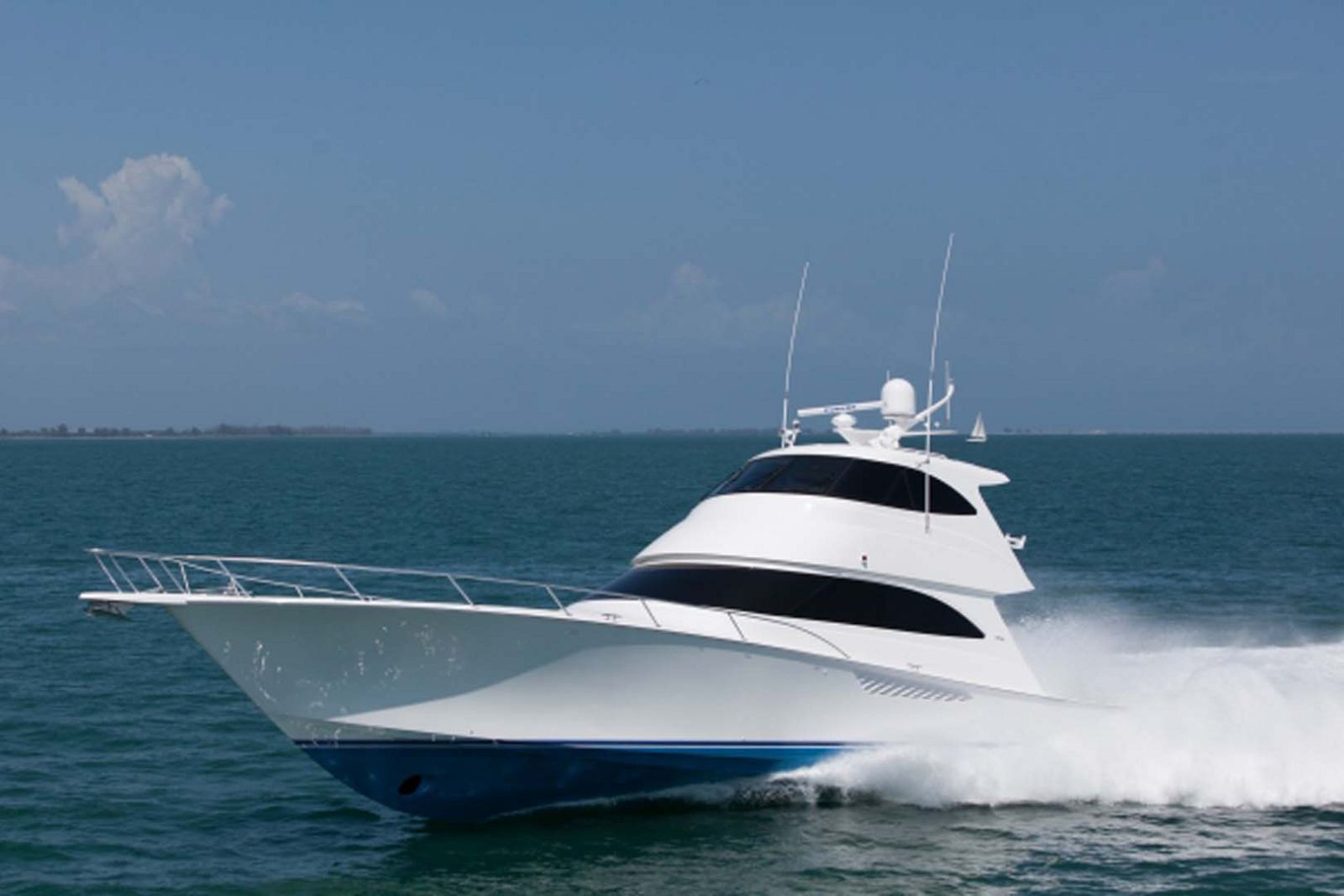 Viking Yachts 66 Enclosed Bridge Convertible Profile Image