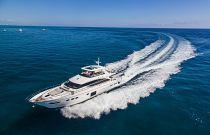 Princess Yachts 82 Moto Yacht Running Image