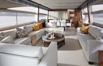 Princess Yachts 82 MY Living Room