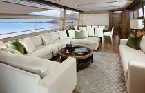 Princess Yachts 82 MY Accent Pillows Salon