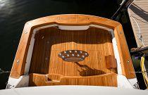 Viking Yachts 68C Teak Cockpit