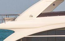 Princess 75 Motor Yacht Hardtop Detail
