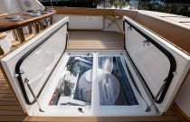Viking Yachts 68 Convertible SeaKeeper Access