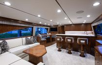 Viking Yachts 68C Salon Forward Image