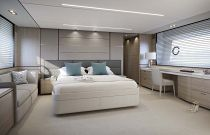 Princess Yachts 75 Motor Yacht Master Stateroom Cabin