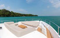 Princess 75 Motor Yacht Portuguese Bow Sun Area