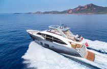 Princess Yachts 75 Motor Yacht Portside Running Image