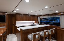 Viking Yachts 68C Galley Bar Stools