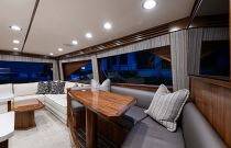 Viking Yachts 68C Salon View Aft