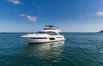 Princess Yachts F62 Port Side Idle