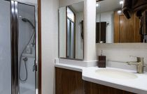 Viking Yachts 68 Head and Stall Shower