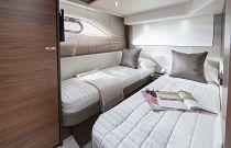 Princess Yachts F62 Twin Berth Cabin