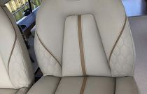 Princess Yachts F62 Helm Chair Stitching