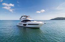 Princess Yachts 62 Flybridge Idle